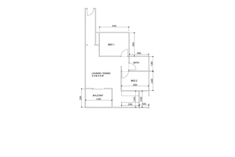 Floorplan of Homely unit listing, 4/5-7 Riverview Street, West Ryde NSW 2114