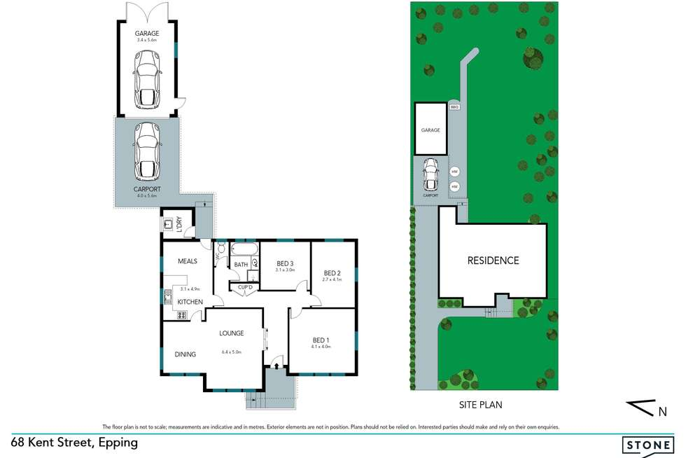 Floorplan of Homely house listing, 68 Kent Street, Epping NSW 2121