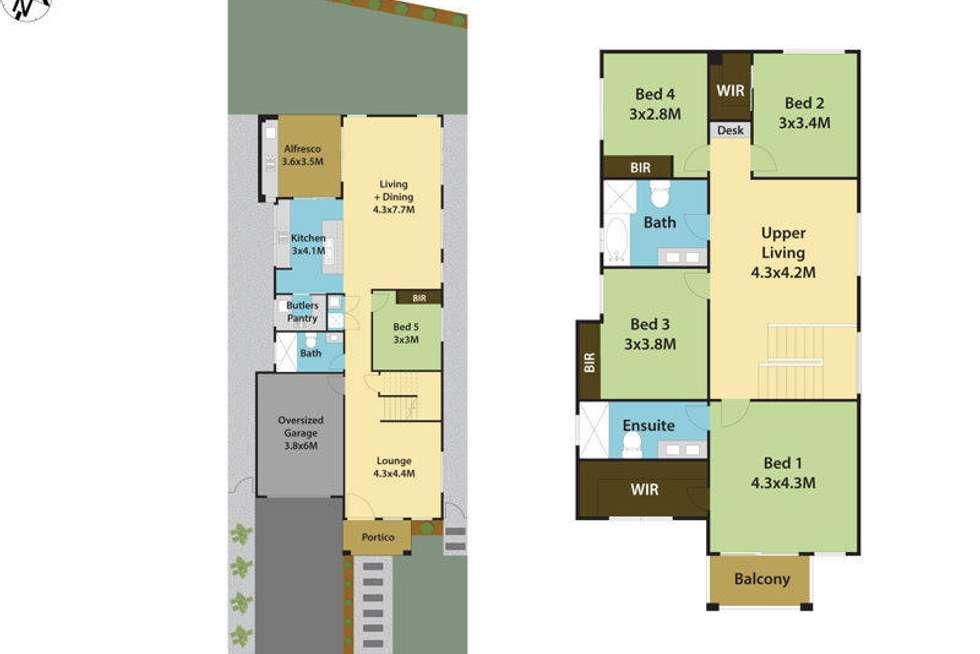 Floorplan of Homely house listing, 5 Deguara Street, Schofields NSW 2762
