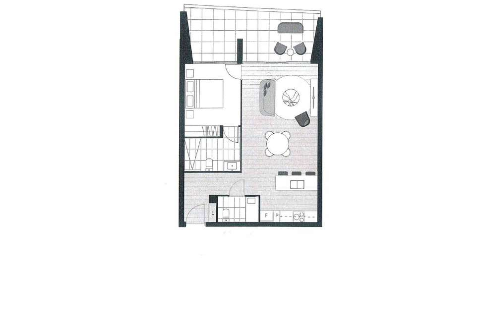 Floorplan of Homely apartment listing, 49/7 State Circle, Forrest ACT 2603