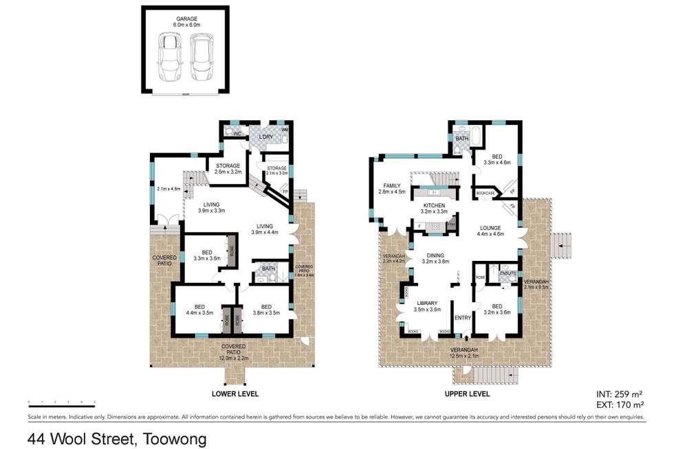 Floorplan of Homely house listing, 44 Wool Street, Toowong QLD 4066