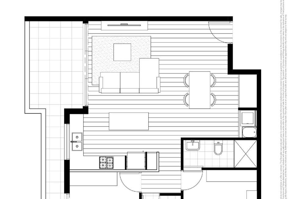 Floorplan of Homely apartment listing, D102/19 Withers Road, Kellyville NSW 2155