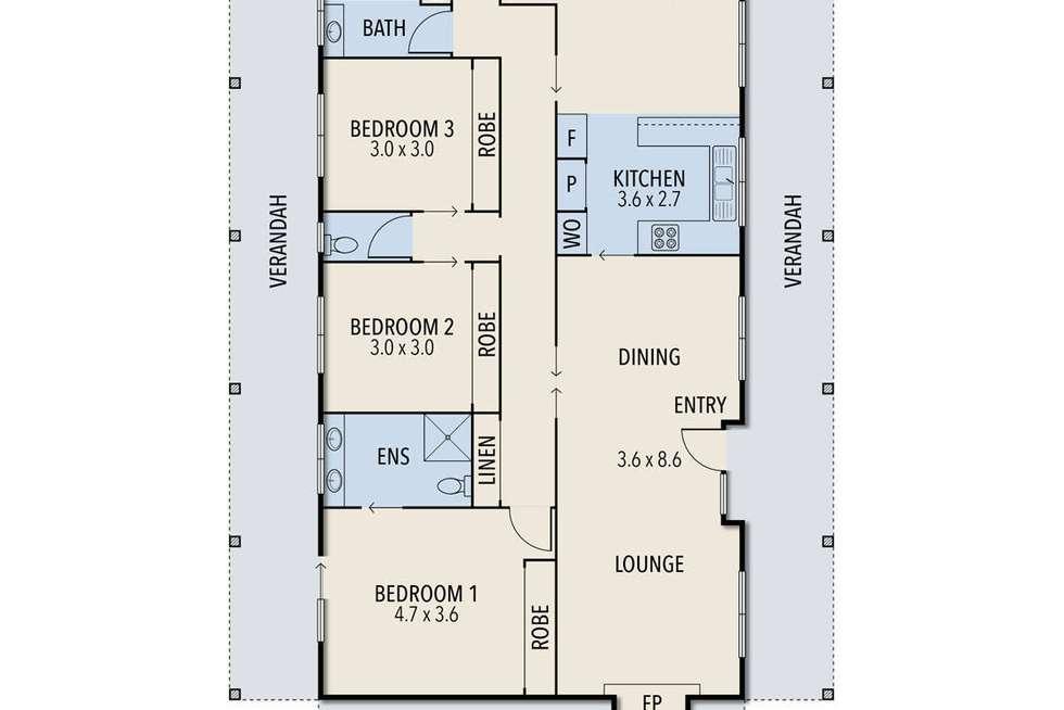 Floorplan of Homely acreageSemiRural listing, 18 Mcleans Road, Little River VIC 3211