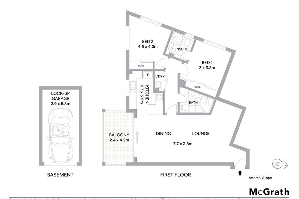 Floorplan of Homely unit listing, 10/46-48 Bridge Road, Hornsby NSW 2077