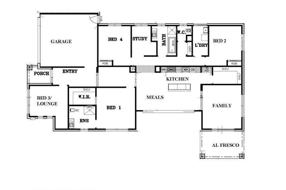Floorplan of Homely house listing, 30 Kempen Road, Doreen VIC 3754