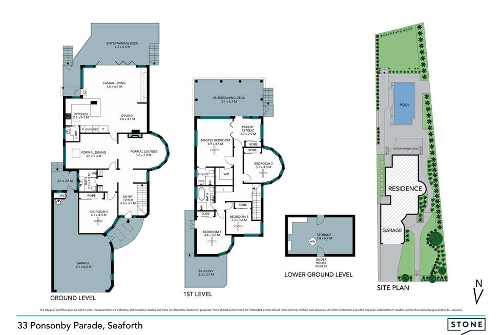 Floorplan of Homely house listing, 33 Ponsonby Parade, Seaforth NSW 2092
