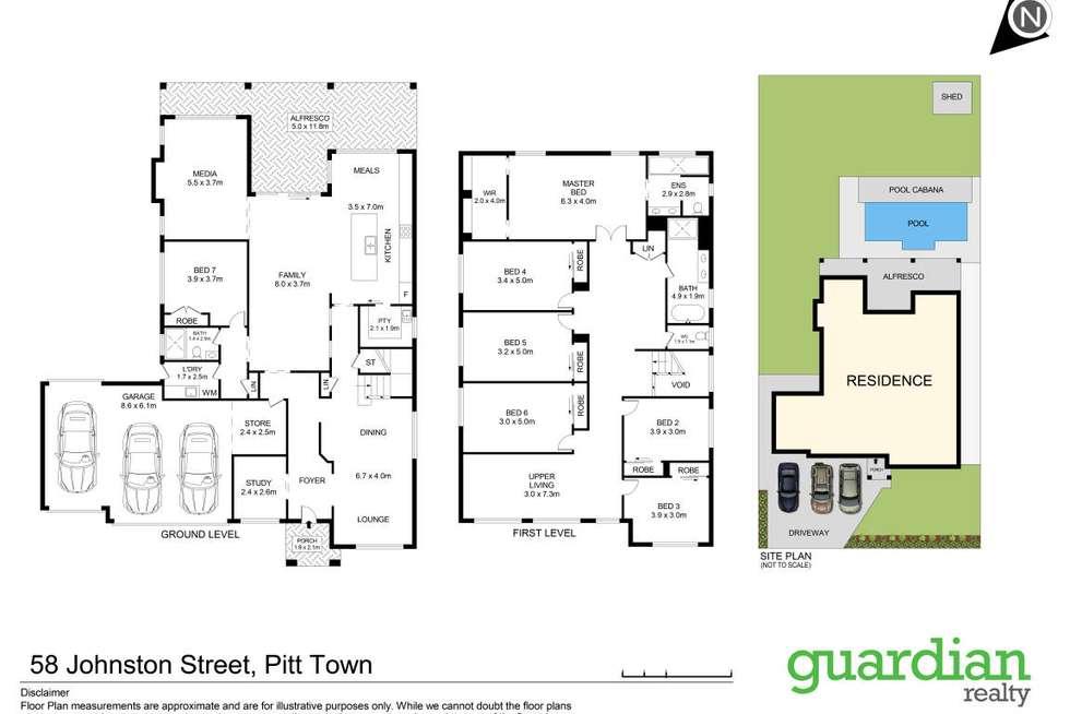 Floorplan of Homely house listing, 58 Johnston Street, Pitt Town NSW 2756