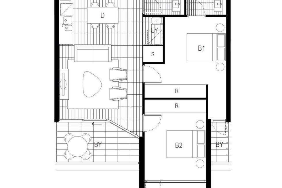 Floorplan of Homely apartment listing, Level 3/116/6C Defries Avenue, Zetland NSW 2017
