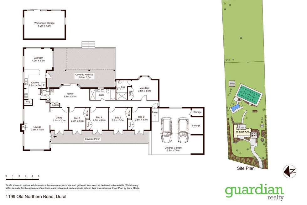 Floorplan of Homely house listing, 1199 Old Northern Road, Dural NSW 2158