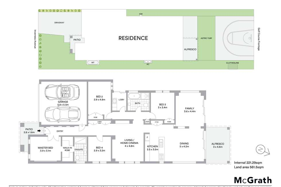 Floorplan of Homely house listing, 7A Inverness Avenue, Mudgee NSW 2850