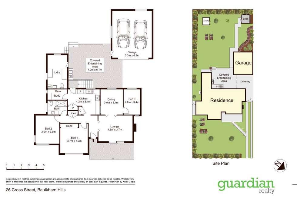 Floorplan of Homely house listing, 26 Cross Street, Baulkham Hills NSW 2153