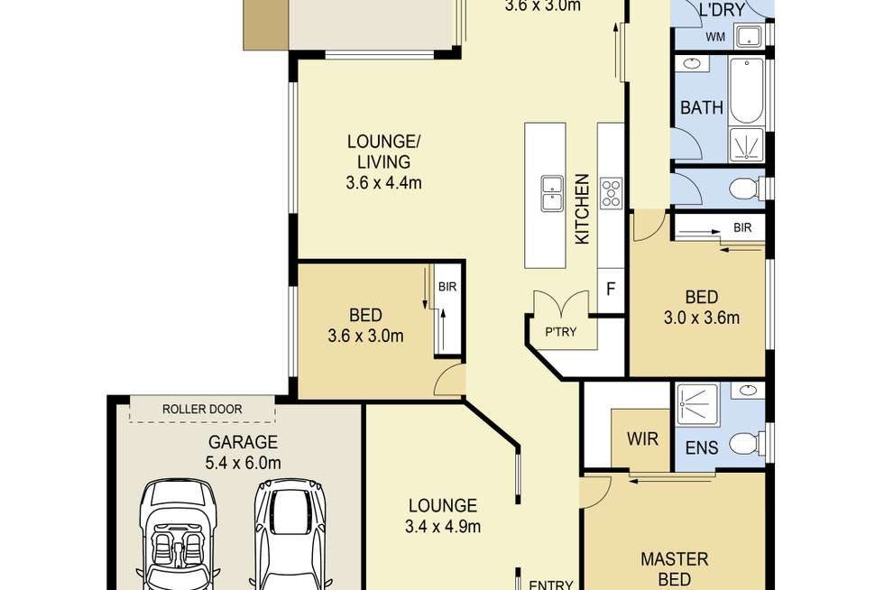 Floorplan of Homely house listing, 17 Chanticleer Avenue, Harkness VIC 3337