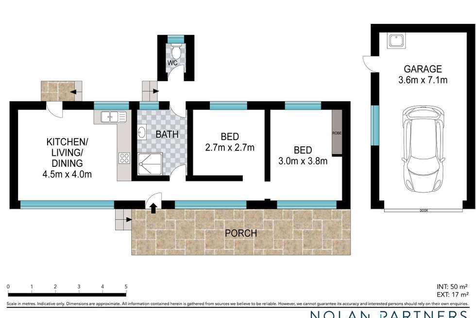 Floorplan of Homely house listing, 7 Boambee Street, Sawtell NSW 2452