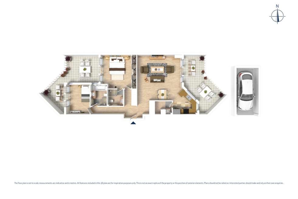 Floorplan of Homely unit listing, 14/9-11 Belmore Street, North Parramatta NSW 2151