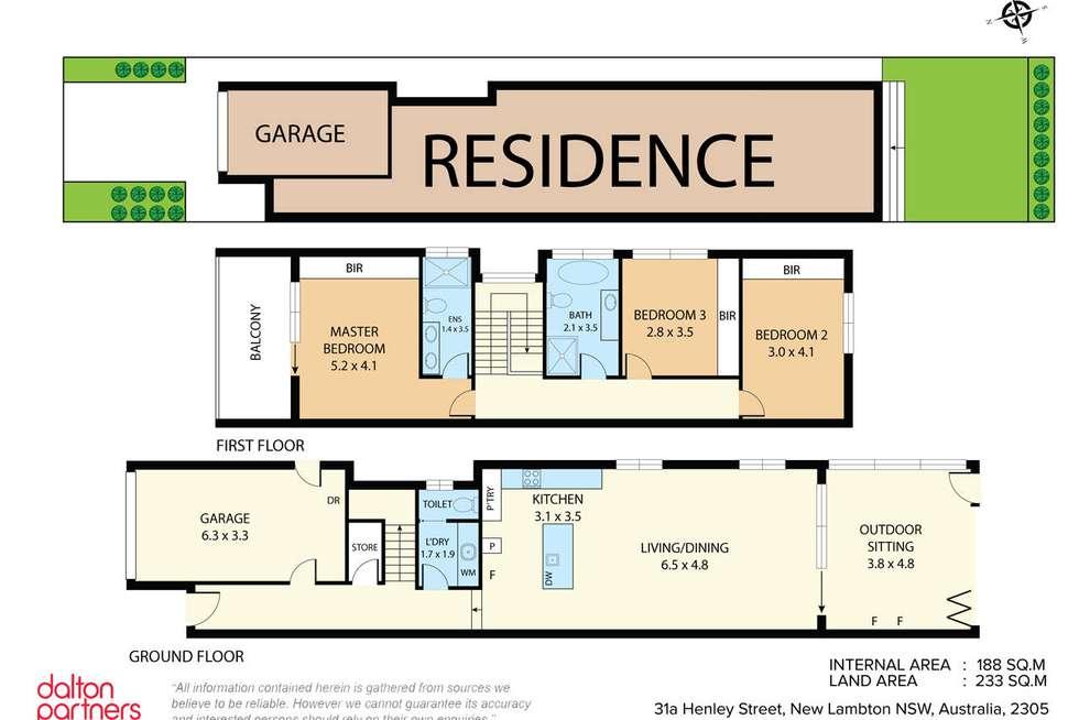 Floorplan of Homely house listing, 31a Henley Street, New Lambton NSW 2305