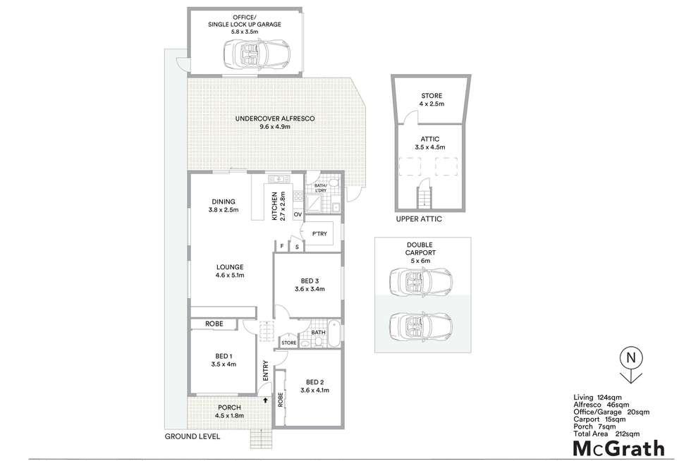 Floorplan of Homely house listing, 38 Veron Street, Wentworthville NSW 2145