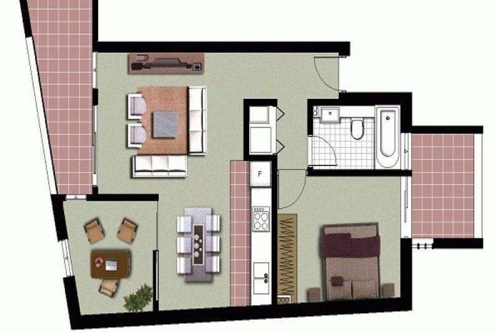 Floorplan of Homely apartment listing, 2/315 Bunnerong Road, Maroubra NSW 2035