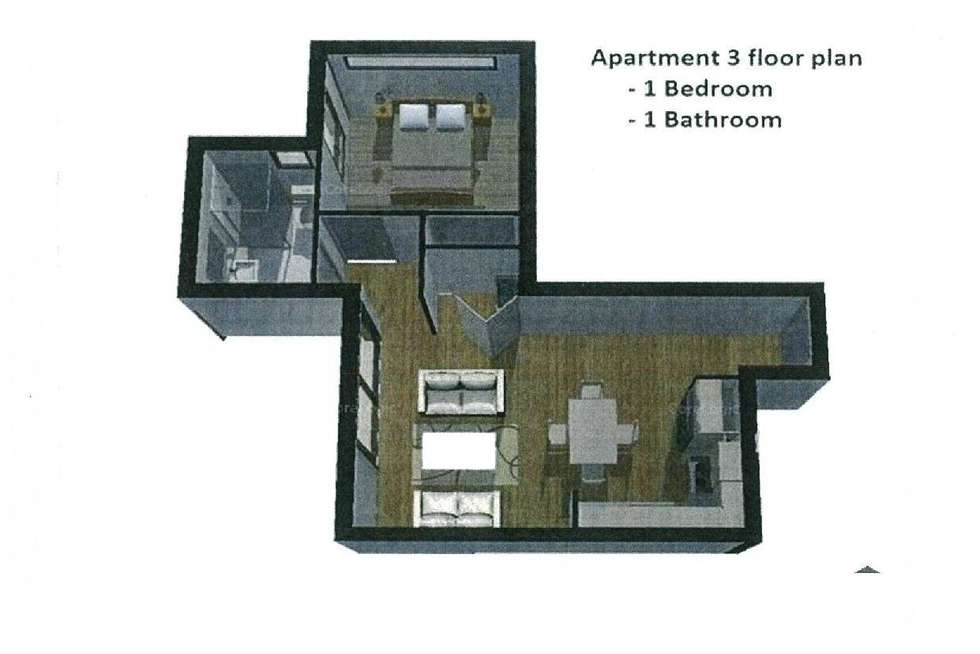 Floorplan of Homely apartment listing, 3/133 Nicholson Street, Coburg VIC 3058