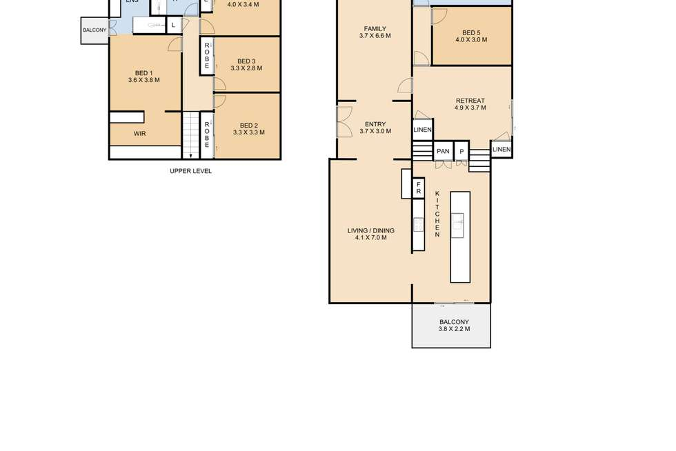 Floorplan of Homely house listing, 6 Hickey Street, East Toowoomba QLD 4350