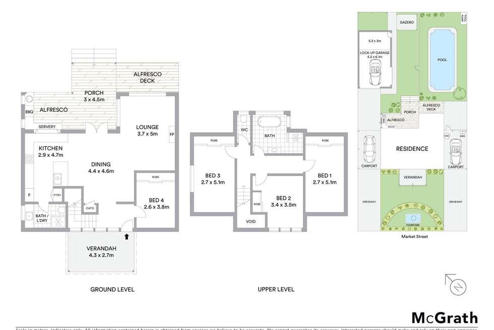 Floorplan of Homely house listing, 184 Market Street, Mudgee NSW 2850