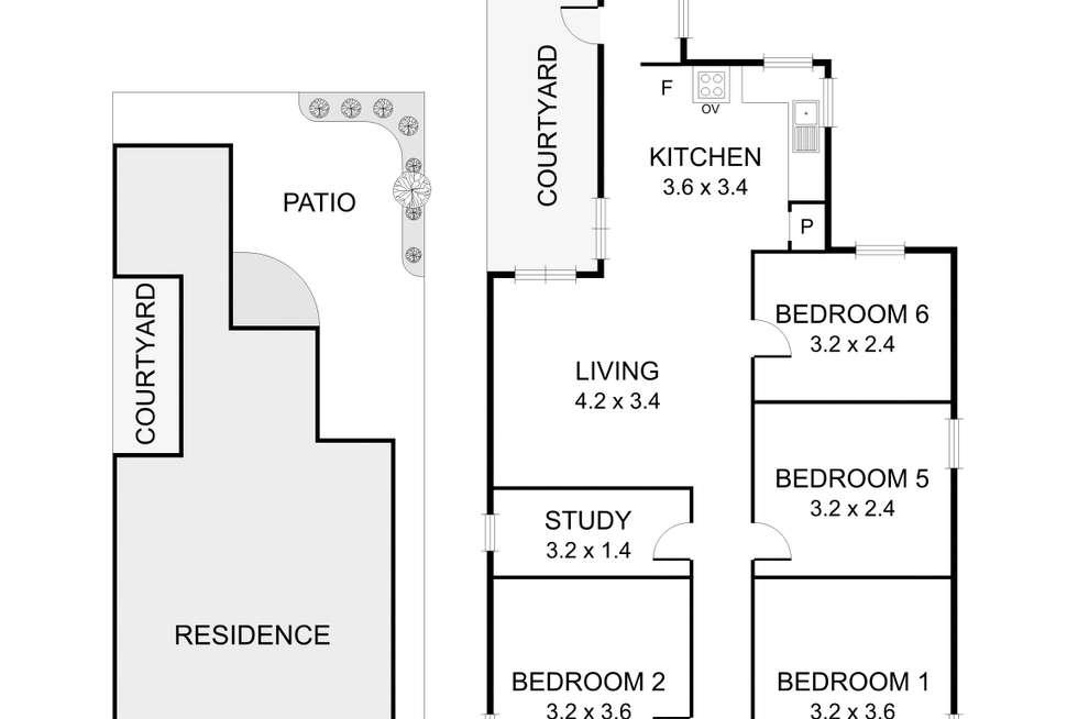Floorplan of Homely house listing, 93 Union Street, Brunswick VIC 3056