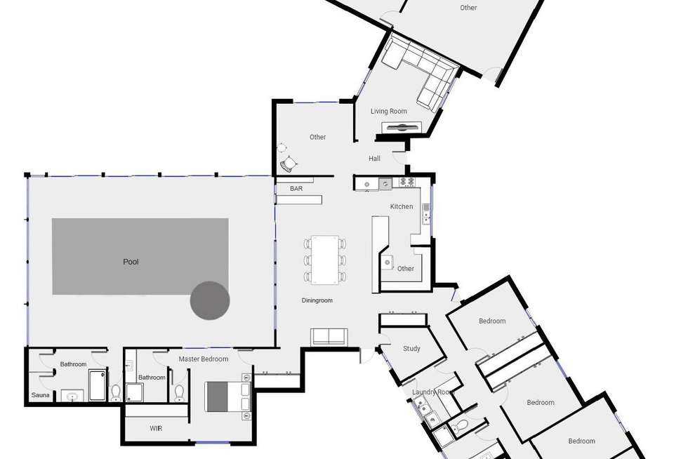 Floorplan of Homely house listing, 128 Cowra Avenue Extension, Irymple VIC 3498