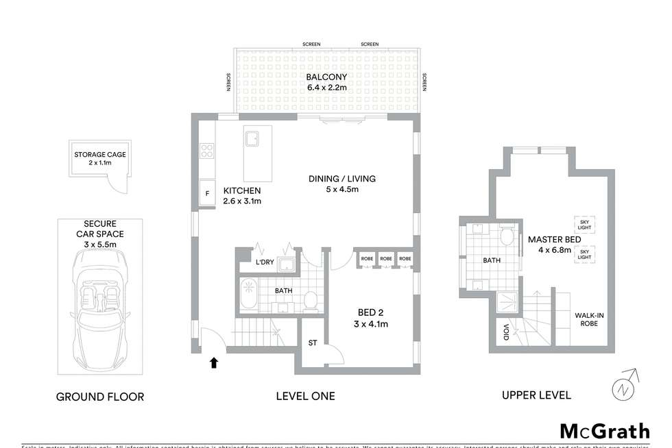 Floorplan of Homely apartment listing, 7/36A Park Road, Naremburn NSW 2065