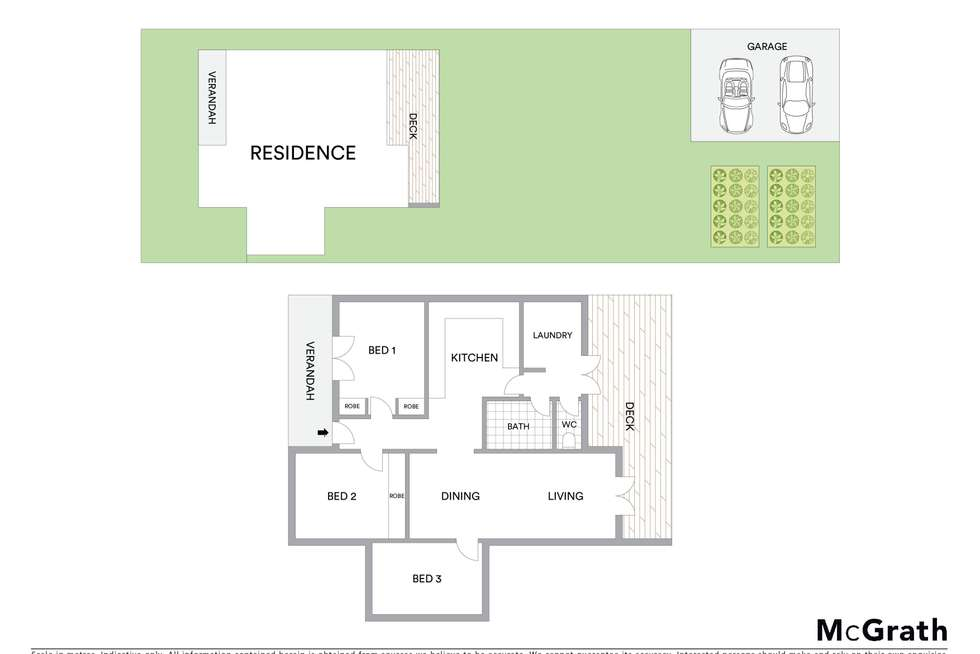Floorplan of Homely house listing, 22 Court Street, Mudgee NSW 2850
