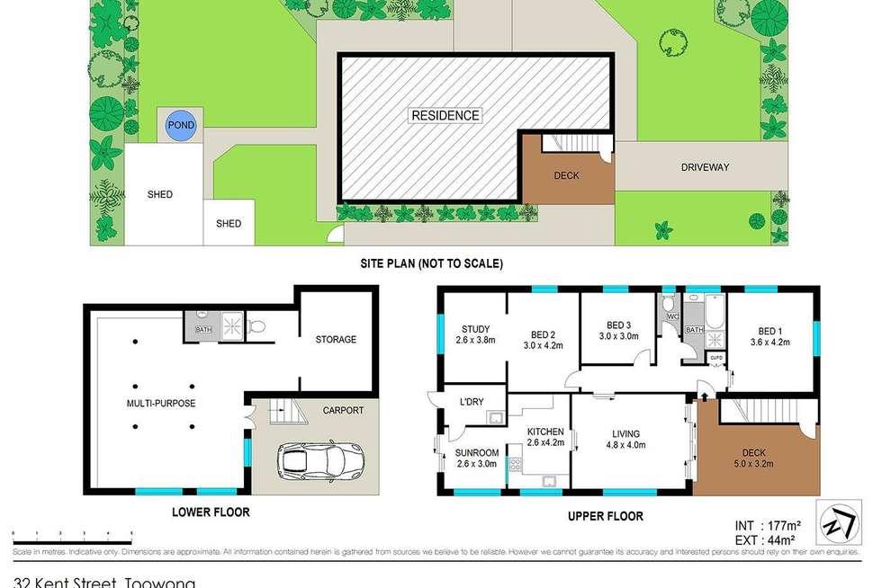 Floorplan of Homely house listing, 32 Kent Street, Toowong QLD 4066