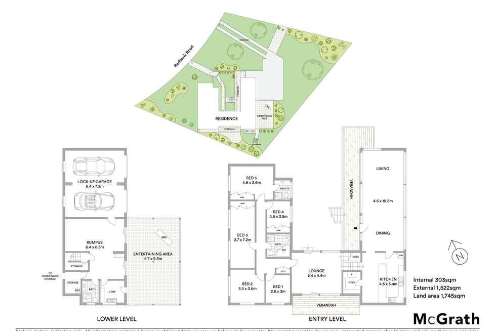 Floorplan of Homely house listing, 11 Redbank Road, Mudgee NSW 2850