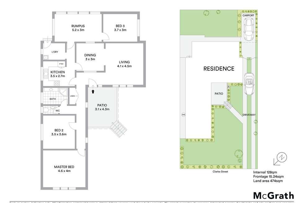 Floorplan of Homely house listing, 5 Clarke Street, West Ryde NSW 2114