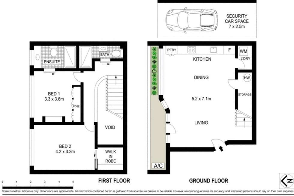 Floorplan of Homely apartment listing, 5/134 Military Road, Neutral Bay NSW 2089