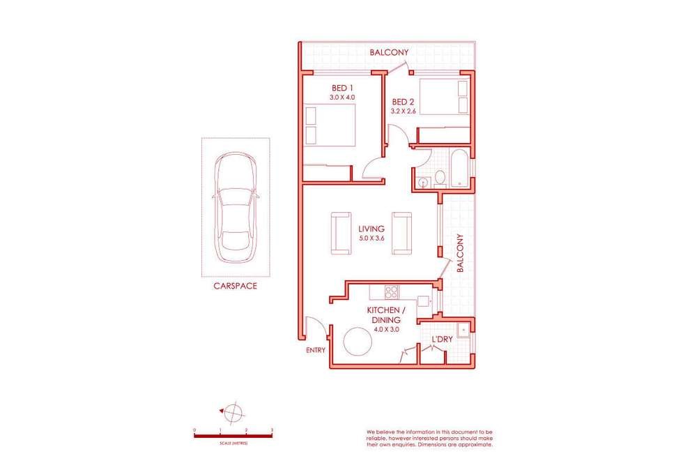 Floorplan of Homely apartment listing, 10/43 Livingstone Road, Petersham NSW 2049