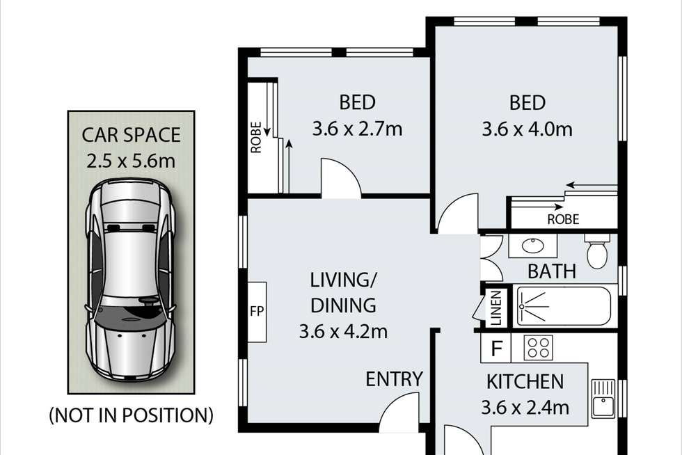 Floorplan of Homely apartment listing, 3/3 Parkview Road, Fairlight NSW 2094