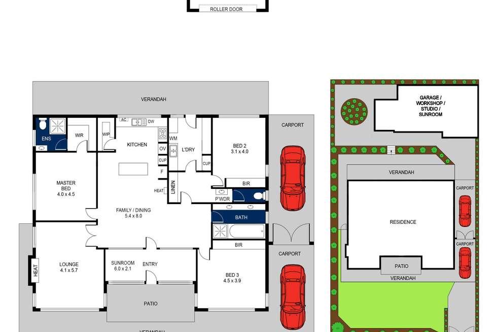 Floorplan of Homely house listing, 3 Summerhill Terrace, Highton VIC 3216