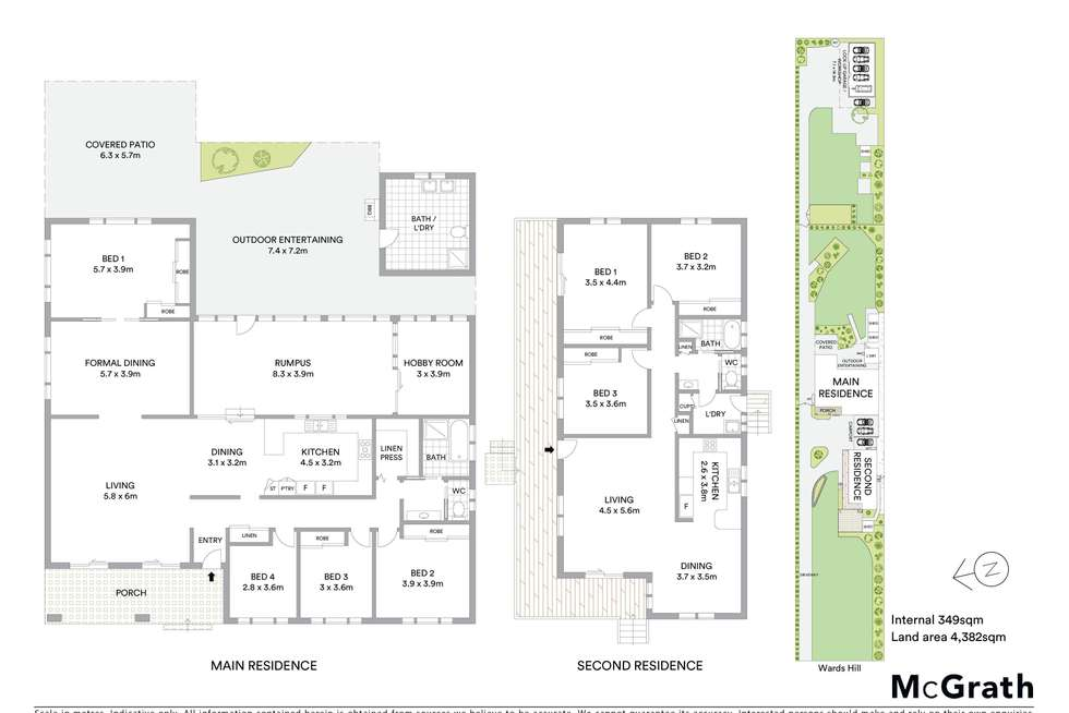 Floorplan of Homely house listing, 435 Wards Hill Road, Empire Bay NSW 2257