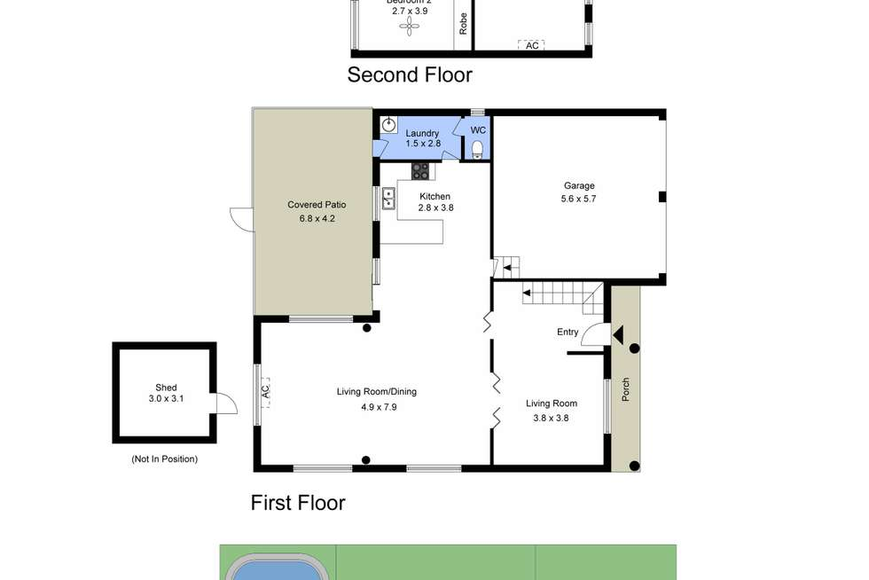 Floorplan of Homely house listing, 28 Menindee Avenue, Blue Haven NSW 2262