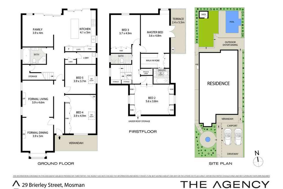 Floorplan of Homely house listing, 29 Brierley Street, Mosman NSW 2088