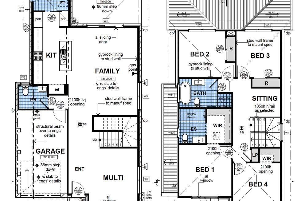 Floorplan of Homely house listing, 6 Maneroo Street, Rouse Hill NSW 2155