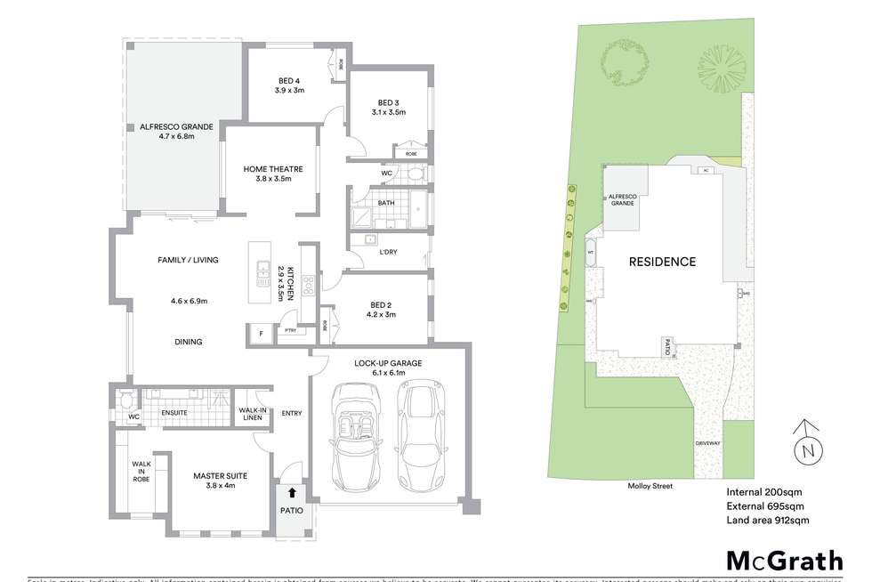 Floorplan of Homely house listing, 9 Molloy Street, Mollymook NSW 2539