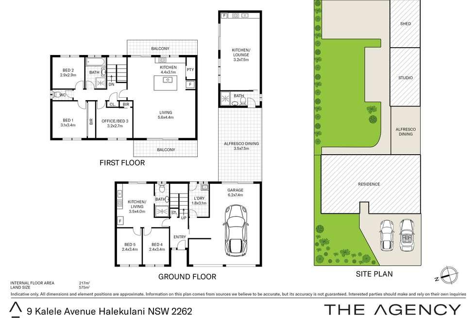 Floorplan of Homely house listing, 9 Kalele Avenue, Halekulani NSW 2262