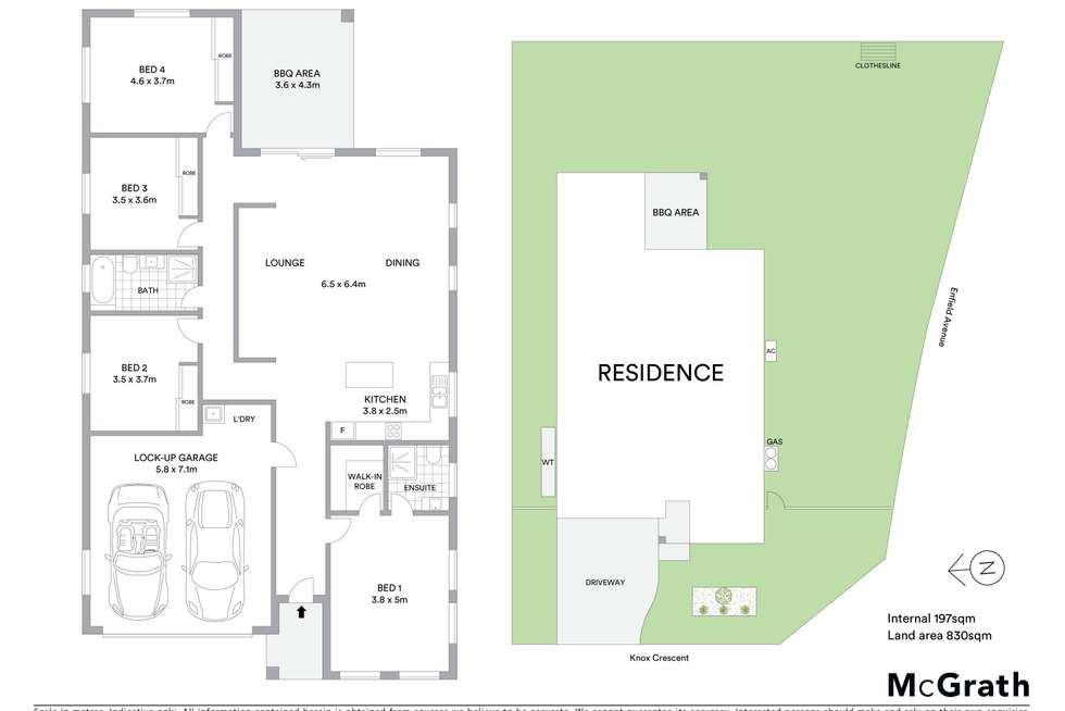 Floorplan of Homely house listing, 34 Knox Crescent, Mudgee NSW 2850