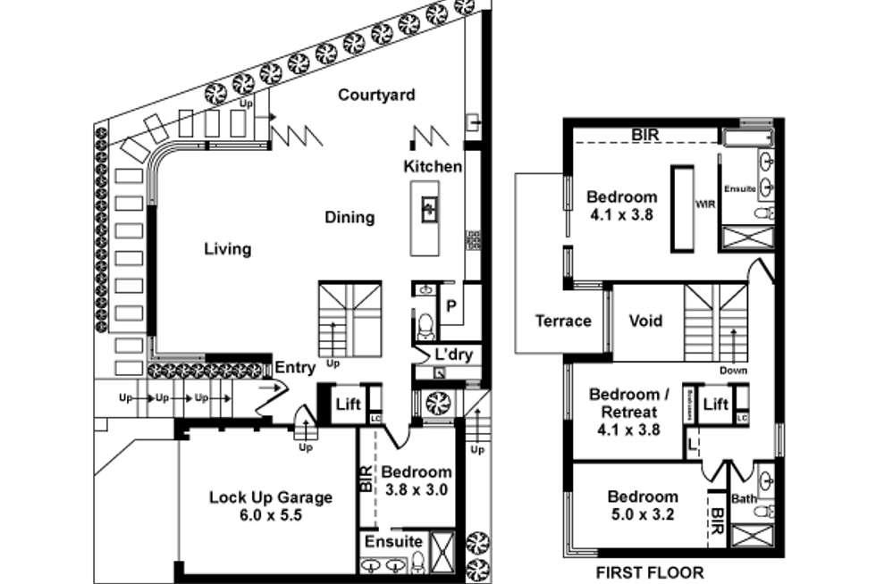 Floorplan of Homely house listing, 217B Esplanade, Altona VIC 3018