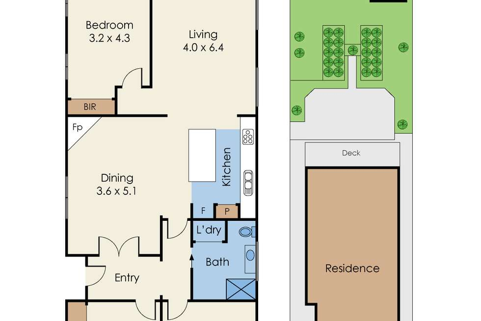 Floorplan of Homely house listing, 32 Normanby Avenue, Thornbury VIC 3071