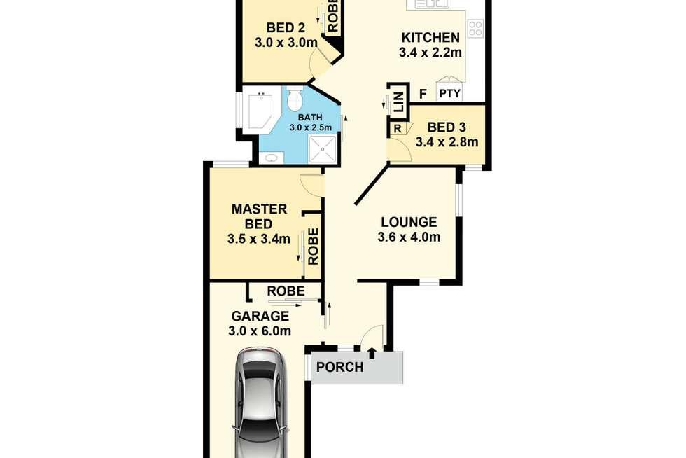 Floorplan of Homely villa listing, 6/15 O'Brien Street, Mount Druitt NSW 2770