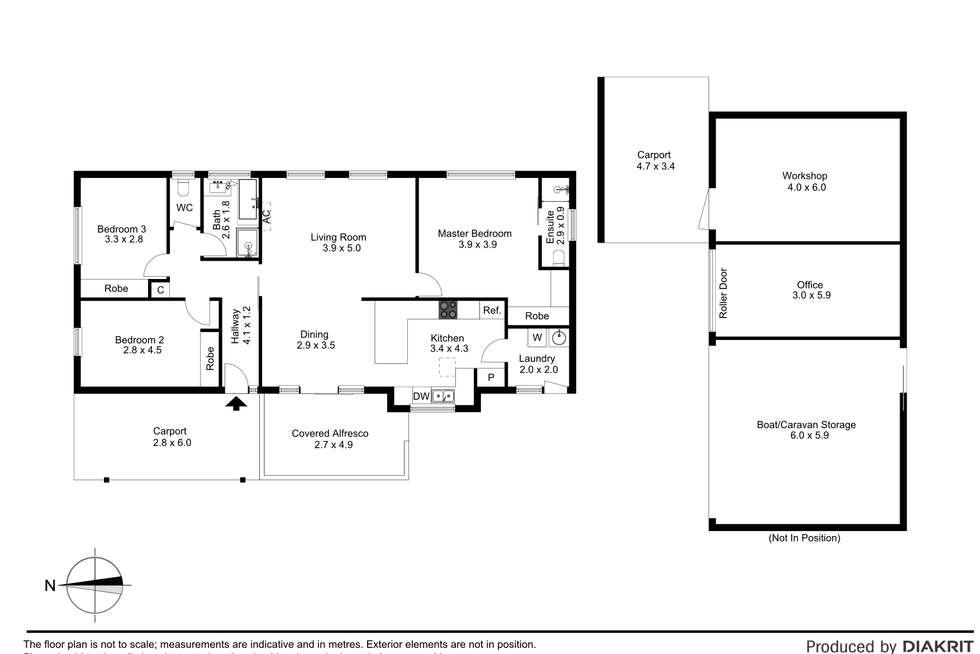 Floorplan of Homely house listing, 29 Spring Street, Hastings VIC 3915