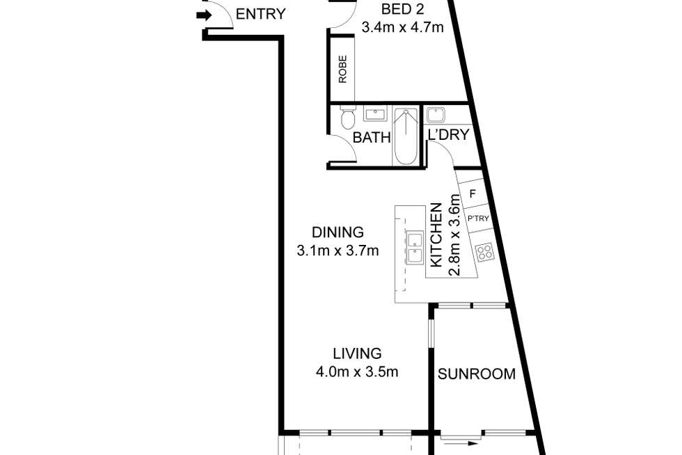 Floorplan of Homely apartment listing, 1201/169-177 Mona Vale Road, St Ives NSW 2075