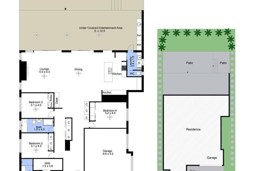 Floorplan of Homely house listing, 76 Noamunga Crescent, Gwandalan NSW 2259