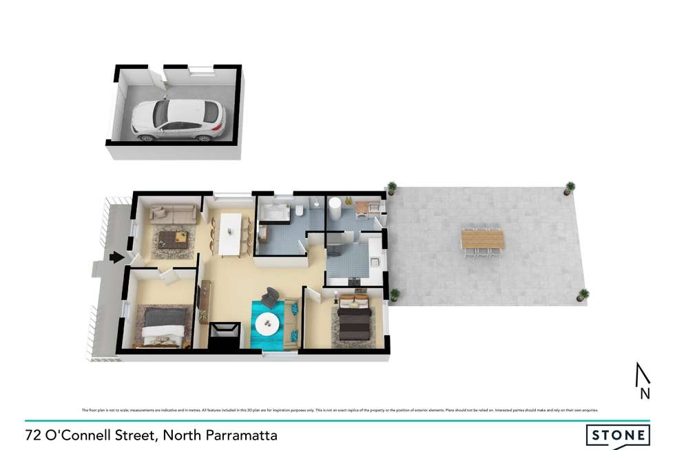 Floorplan of Homely house listing, 72 O'Connell Street, North Parramatta NSW 2151