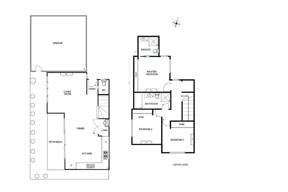 Floorplan of Homely townhouse listing, 6/62 Roberts Street, West Footscray VIC 3012